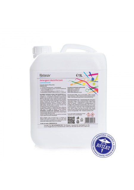 KLINTENSIV® - Concentrated disinfectant detergent 5l